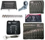Wrenches et tenailles à cliquet