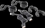 Lampe COB-LED pour capot moteur sur accu avec etrier extensible 2 lampes de travail / poche COB-LED