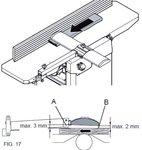 Raboteuse raboteuse portative - 254mm - 2mm