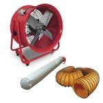 Ventilateur 400mm avec accessoires 580x550x360mm