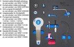 Jeu doutils de reglage du moteur pour BMW et MINI, 1.5 & 2.0 L Diesel