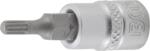 Douille a embouts 6,3 mm (1/4) denture multiple interieure (pour XZN)