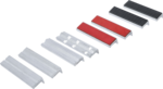 Jeu de mors de protection pour etau aluminium 8-pieces
