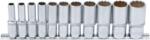 Jeu de Douilles, douze pans, profondes (3/8) en pouces 11 pieces