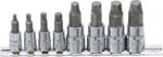 Jeu d'extracteurs de vis (1/4) / (3/8) pour six pans creux 3 -10 mm 8 pieces