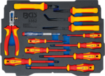 Insert pour Art. BOXSYS1 & 2 : Jeu de pinces / tournevis d'electricien VDE 13 pieces