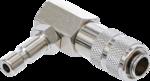 Adaptateur a baionnette pour systeme de refroidissement Coude 90° Pour Art. 8027/8098