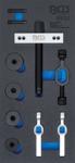 Insert de servante d'atelier 1/3 : Extracteur de roulement de cage de differentiel