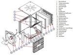 Ventilateur de refroidissement 18000m³/h