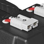 Boite a batterie 30x20x20cm 2x USB - 1x prise 12V - Voltmetre - 2x connecteur Anderson