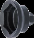 Cle pour ecrous d'essieu six pans pour essieux de remorques SAF 85 mm