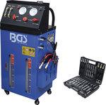 Appareil de vidange d'huile et de rincage de boite de vitesses automatique avec jeu d'adaptateurs