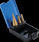 Coupe-percage, en titane, 4-30 mm