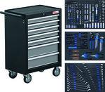 Trolley d'atelier BGS 2001 avec 263 outils
