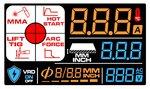 Onduleur a electrodes lcd 160a 230v + accessoires