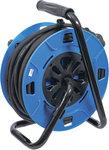 Enrouleur de cable 25 m 3 x 1,5 mm² 4 prises de courant avec clapet de fermeture IP 44 3500W