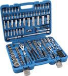 Coffret de douilles Super Lock 6,3 mm (1/4) / 10 mm (3/8) / 12,5 mm (1/2) 192 pieces