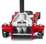 Cric hydraulique extra bas, double pompe 2,5 tonnes