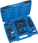 Jeu d'adaptateurs pour crochets et filets d'injecteurs diesel, 10 pieces