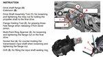 Jeu d'outils pour bride de differentiel et ecrou crenele pour BMW E70, E82, E90, E91, E92, E93