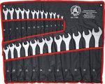 Jeu de cles mixtes 6 - 32 mm - 25 pieces