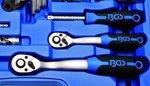 Coffret de douilles six pans 6,3 mm (1/4) + 10 mm (3/8) pouces 92 pieces