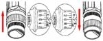 Jeu de cles dynamometriques 40 - 210 mm 11 pieces