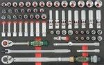 Chariot 8 tiroirs avec des outils de 405pc (EVA)