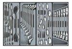 Chariot 8 tiroirs avec des outils 376pc
