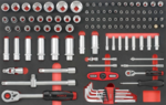 Servante d'atelier Practical 193 outils