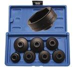7 pieces Low Profile Filtre a huile Wrench Set