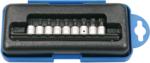 Jeu de douilles embouts 6,3 mm (1/4) Profil T (pour Torx Plus) 9 pieces