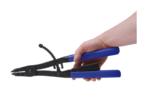 Jeu de pinces circlips pour vehicules utilitaires pointes echangeables 400 mm