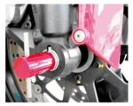 Outil de redressage dessieu avant pour Ducati 30 mm