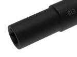 Douille de cle a douilles, profil E, extra longue 22 mm E18