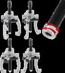 Extracteur interne/externe, 2 et 3 griffes 76 - 102 mm