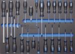 Servante d'atelier 8 tiroirs avec 296 outils