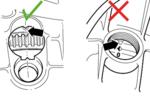 Outil de calage de poulie crantee pour VAG 1.9 TDI