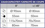 Tronconneuse -  315 mm