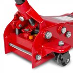 Cric rouleur hydraulique 2,5t - extra plat pour des voitures sportives