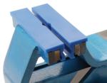 Mors de protection pour etau matiere plastique largeur 125 mm 2 pieces
