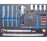 Service de pneu de chariot d'atelier comprenant 82 outils