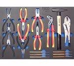 Servante d'atelier Profi Standard Maxi avec 263 outils