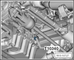 Vilebrequin outil de blocage VAG FSI / TFSI, de BGS 62625