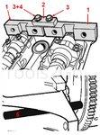 Ensemble d'outils de synchronisation du moteur pour BMW M42 / M50
