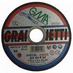 inetti disque tronconneuse inox 75x1x10 mm