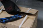 Couteau retractable, lames de 25 mm finition extra robuste