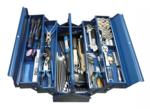 Caisse outils metallique, avec outils 137 pieces