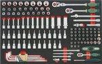 Chariot 8 tiroirs avec des outils de 326pc (EVA)