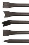 Marteaux pneumatiques burins fixes, 5 pcs